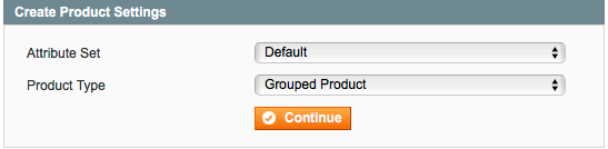 grouped product attribute