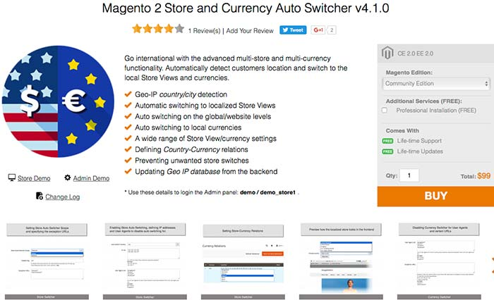 Magento downlodable product
